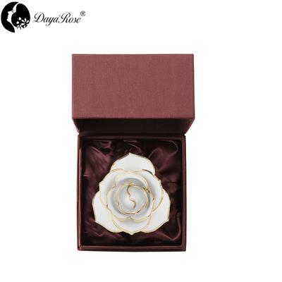 Love Only Snow White Gold Rose (natural Rose)