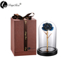 Daiya Light Blue Rose 24K Gold /gold Leaf+The Glass Cover