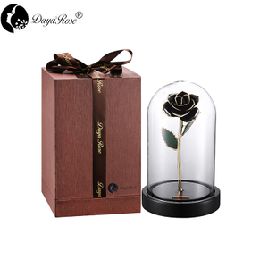 Black Rose Gilding(The Glass Cover)