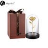 "Daiya 11.8"" Venus Rose in 24k Gold /The glass cover"