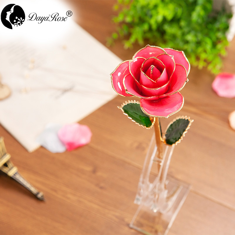 Wholesale Processing Customized Diana Pink Gold Rose
