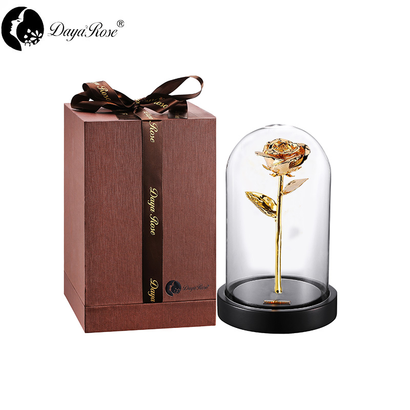 Daiya Venus Rose in 24k Gold /The Glass Cover