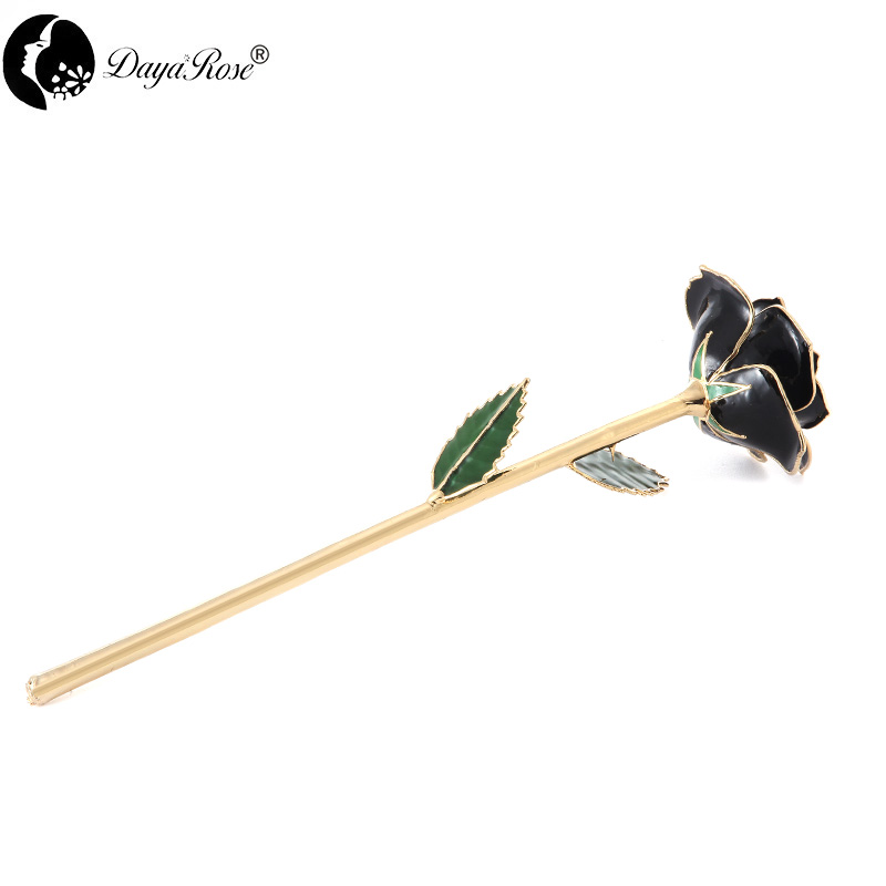 Wholesale Processing Customized Diana Black Gold Rose