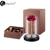 Daiya Rose Red Rose 24K Gold /gold Leaf+The Glass Cover