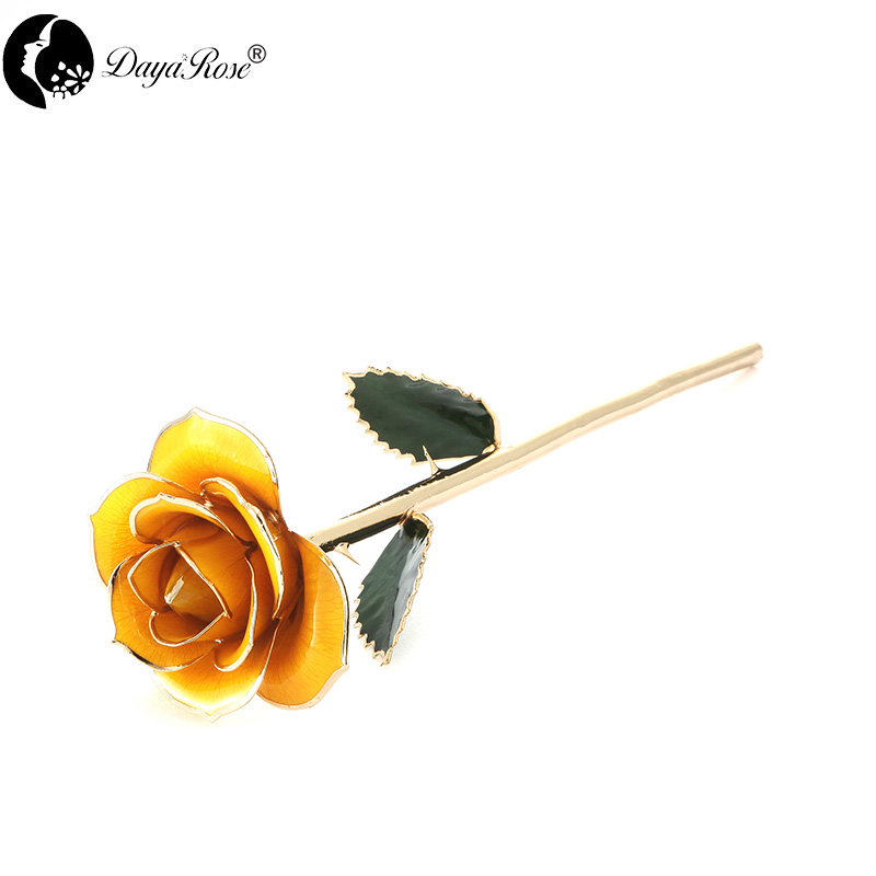 Wholesale Processing Customized Diana Lemon Gold Rose